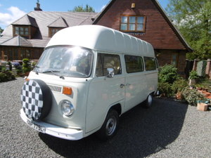 1973 vw camper van rare high top t2