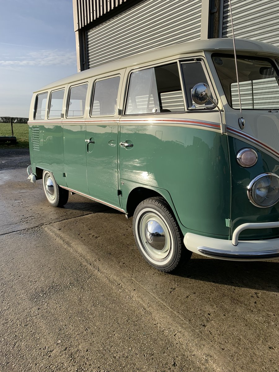 1967 VW split screen Delux  For Sale (picture 1 of 6)