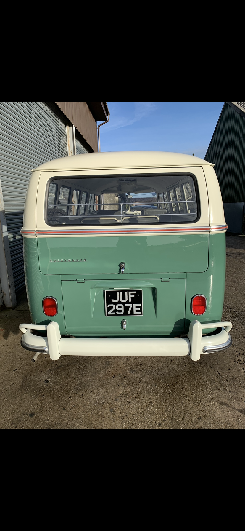 1967 VW split screen Delux  For Sale (picture 3 of 6)