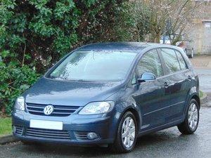 2005 LHD.. Volkswagen Golf Plus Sport 1.9 TDi.. 1 Owner.. Superb SOLD