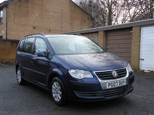 2007 VW Touran 1.9 TDI S 105BHP 6SPD 7 Seats One Former  SOLD