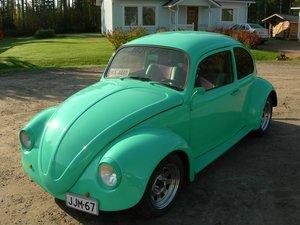 1967 Volkswagen Beetle, California looker.