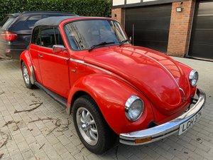 1975 Volkswagen Beetle convertible Original  For Sale