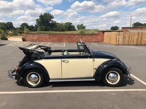 Karmann Beetle Convertible RHD – Rare car