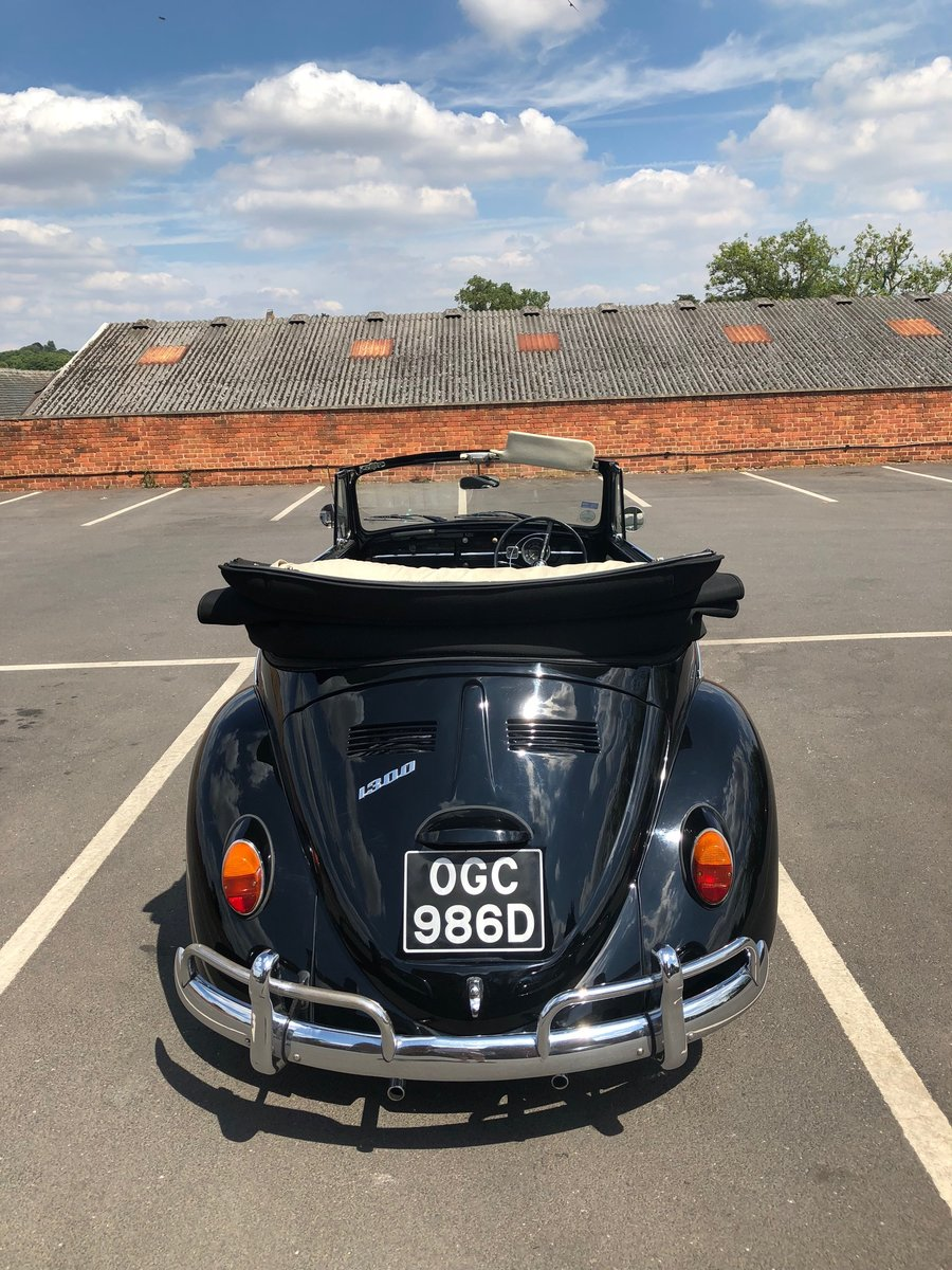 1966 Beetle Convertible RHD – Rare car For Sale (picture 3 of 6)