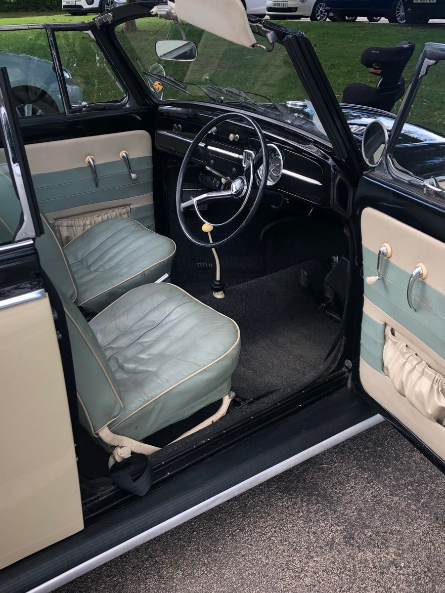 1966 Beetle Convertible RHD – Rare car For Sale (picture 5 of 6)