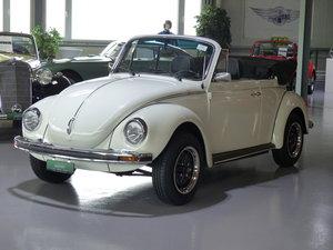 Kräftiges Käfer Cabriolet mit Alcantara Interieur
