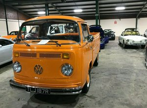 1977 Volkswagen T2 bay window single cab pick up For Sale