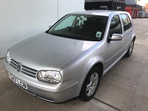 2001 VW Golf 1.9GTTDI 1 Lady Owner, 20 service stamps