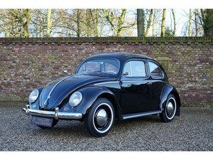1955 Volkswagen Beetle 'Oval' double carburettors, fully restored For Sale