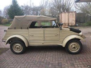 1943 VW KDF Kübelwagen perfectly restored, original For Sale