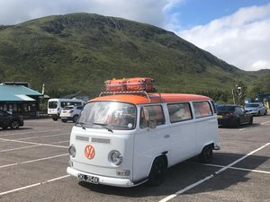 1971 Stanley   Beautiful Opel White and Orange T2 VW