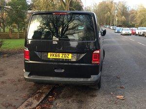 2016 VW bus LWB T6 150bhp T32 damage to rear quarter