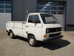 1987 Volkswagen T3 Pick-Up 1.9 watercooled Single Cab only 81.293