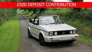1992 VW Golf Clipper ** £500 DEPOSIT CONTRIBUTION ** For Sale