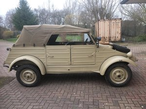 1943 VW KDF Kübelwagen perfectly restored, original For Sale