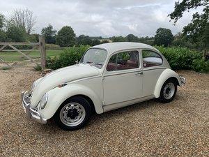 1965 Volkswagen Beetle 1200 Pearl White