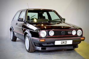 Picture of VW VOLKSWAGEN GOLF MK2 GTI 16V BLACK 3DR 1989 SMALL BUMPER SOLD
