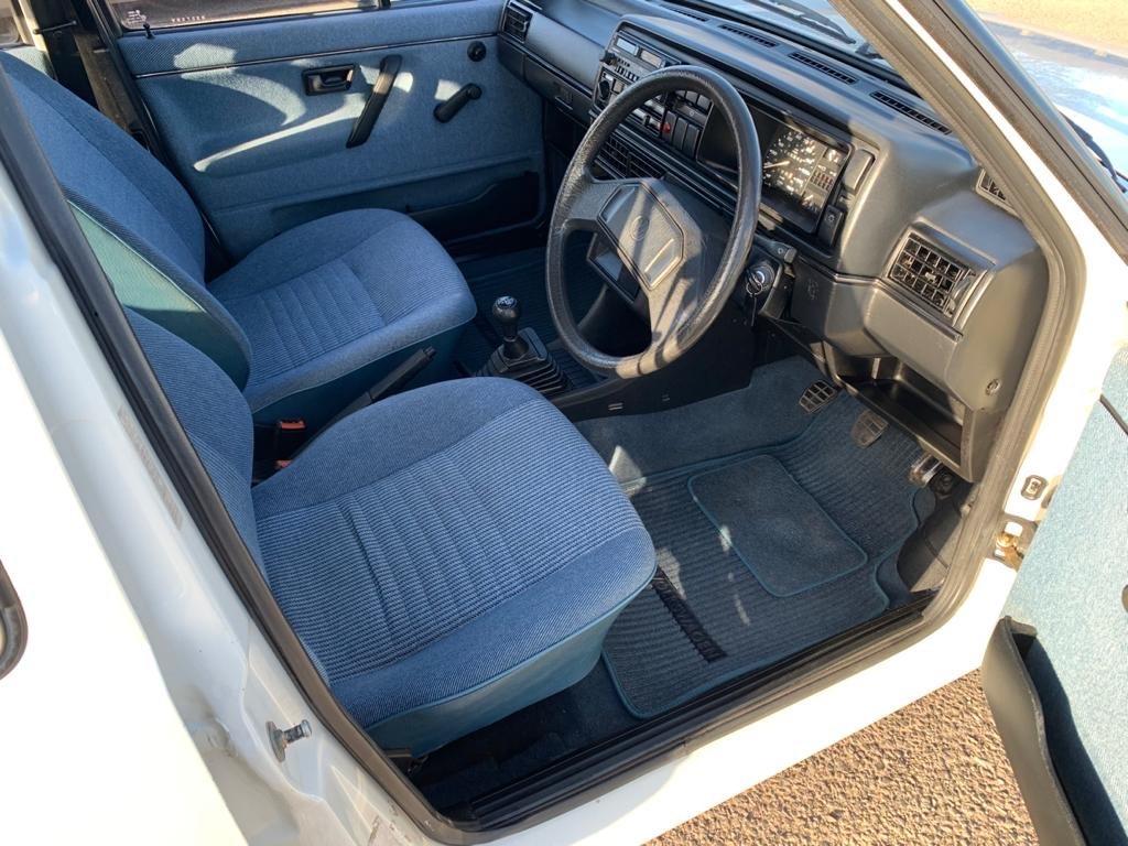 VW VOLKSWAGEN GOLF MK2 1.6 CL 4+E 5DR WHITE NON GTI 1987 SOLD (picture 12 of 14)