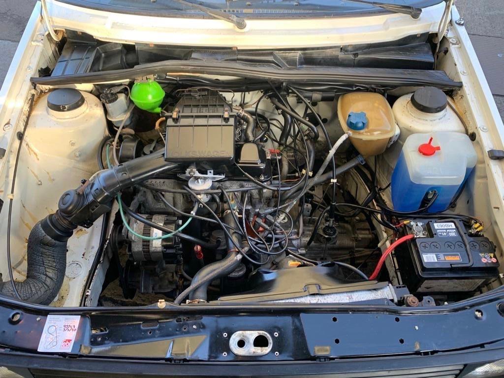 VW VOLKSWAGEN GOLF MK2 1.6 CL 4+E 5DR WHITE NON GTI 1987 SOLD (picture 14 of 14)