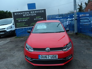 2017 SMART POLO 5 DOOR IN BRIGHT RED TOP END MODEL 22,000 MILES