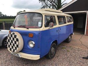 1973 VW Transporter Campervan Bay Window