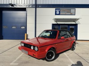 1992 The last of the Mk1 Cabriolet Limited Edition Sportline