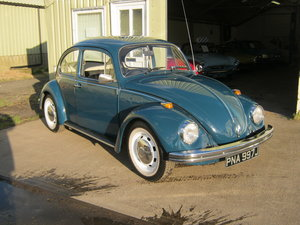 1970 VOLKSWAGEN BEETLE 1300. FRESH RESTORATION SOLD