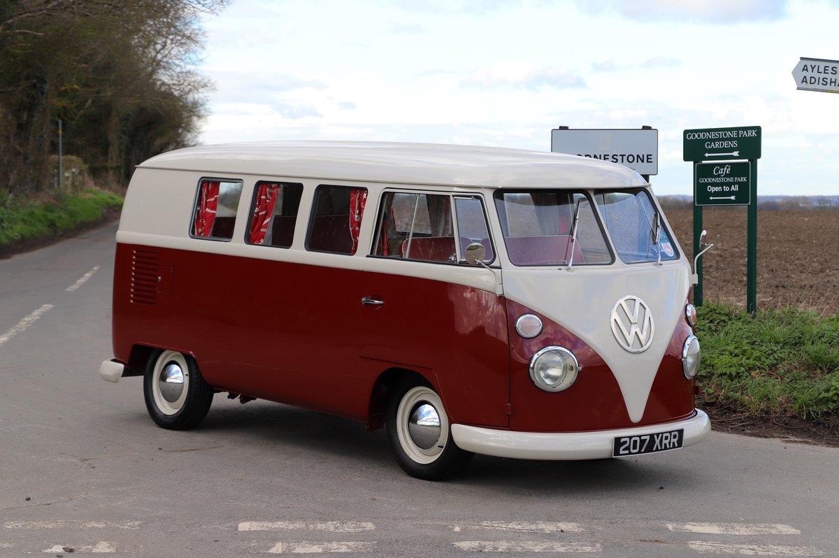 1964 VW Split Screen Camper Van. Nut & Bolt Restoration. For Sale (picture 1 of 6)