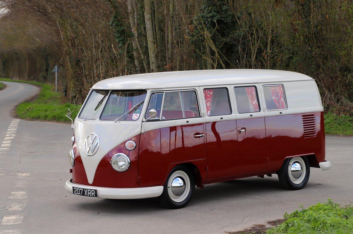 1964 VW Split Screen Camper Van. Nut & Bolt Restoration. For Sale (picture 2 of 6)