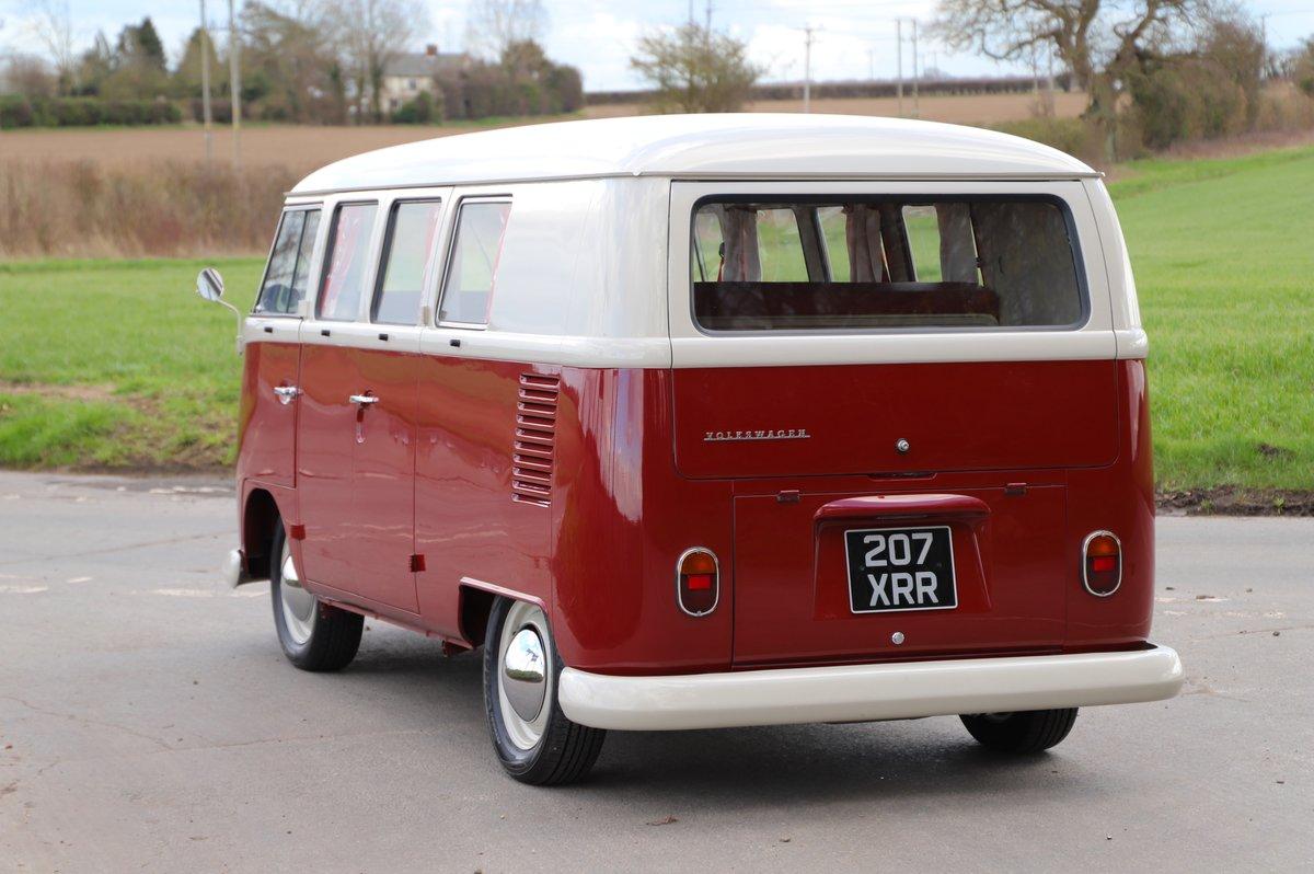 1964 VW Split Screen Camper Van. Nut & Bolt Restoration. For Sale (picture 3 of 6)