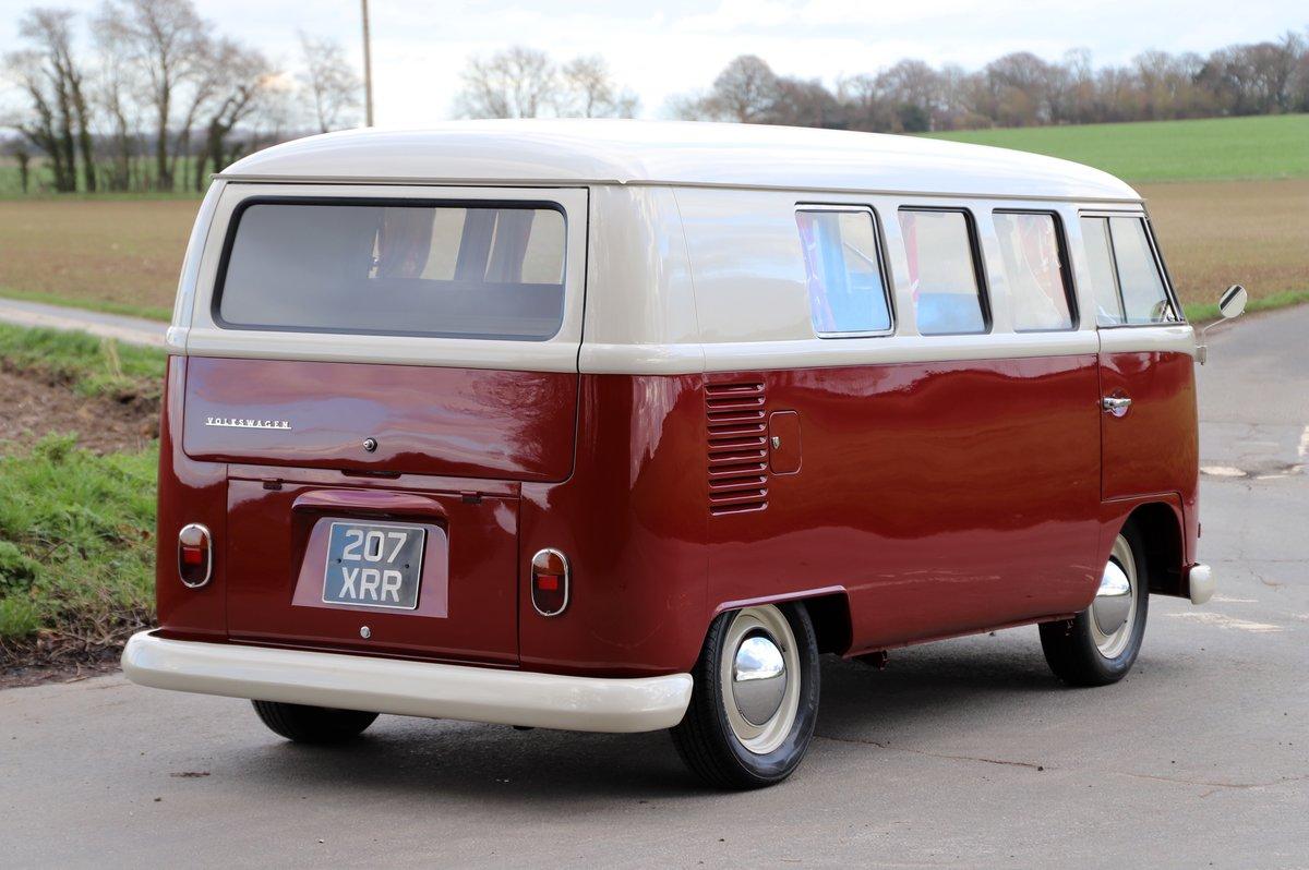 1964 VW Split Screen Camper Van. Nut & Bolt Restoration. For Sale (picture 4 of 6)