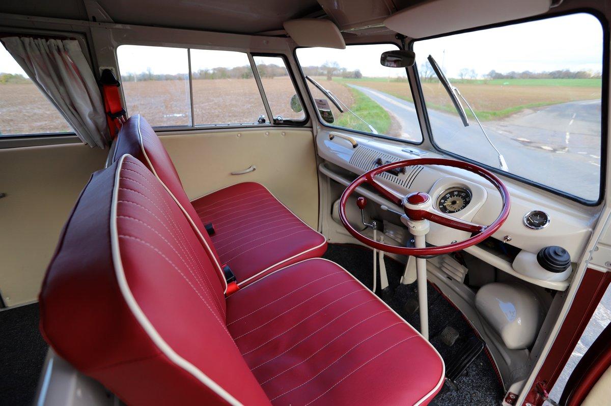 1964 VW Split Screen Camper Van. Nut & Bolt Restoration. For Sale (picture 5 of 6)