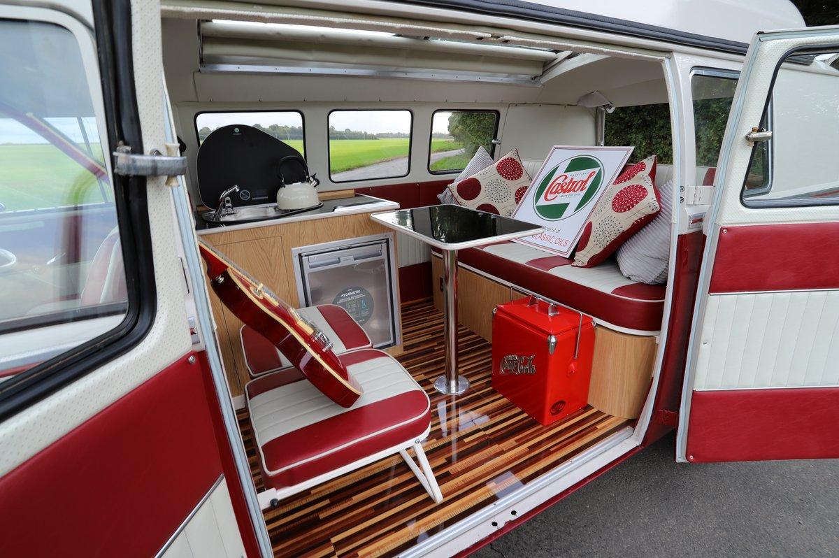 1964 VW Split Screen Camper Van. Nut & Bolt Restoration. For Sale (picture 6 of 6)