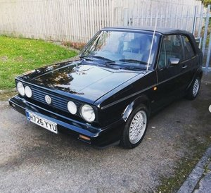 1991 MK1 Golf Cabriolet Clipper - Rare Automatic