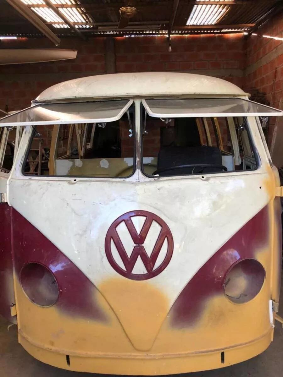 1956 2 VW T-1 Buses projects  SOLD (picture 1 of 6)