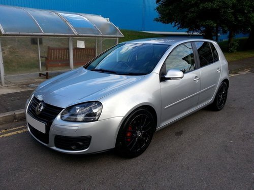 2008 VW GOLF GT TDI 2.0 SPORT 140BHP 6 SPEED MANUAL A/C S/H For Sale (picture 1 of 5)