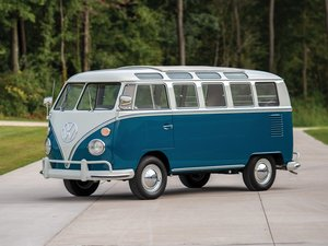 1966 Volkswagen Deluxe 21-Window Microbus  For Sale by Auction