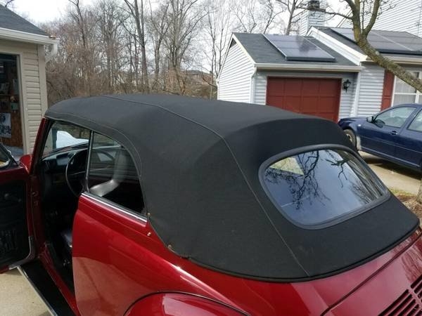 1975 Volkswagen Super Beetle Convertible (Oxon Hill, MD) For Sale (picture 6 of 6)
