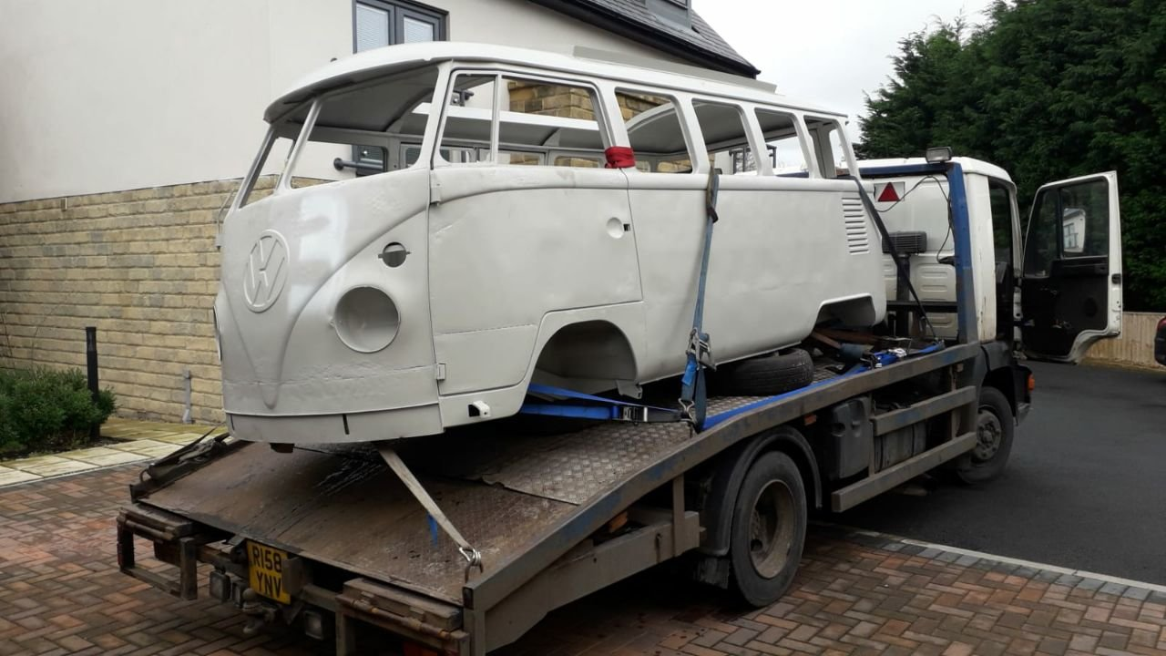 1964 VW Camper Chassis and Shell  For Sale (picture 1 of 4)