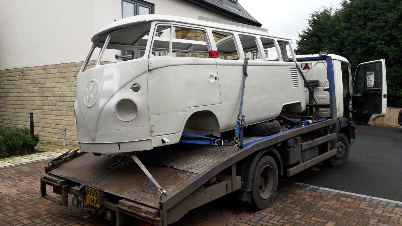 1964 VW Camper Chassis and Shell  For Sale (picture 4 of 4)