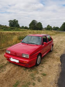 1989 1.8 supercharged golf rallye