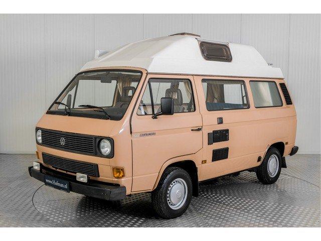 1986 Volkswagen Transporter T3 Camper Eurec + trailer For Sale (picture 1 of 6)