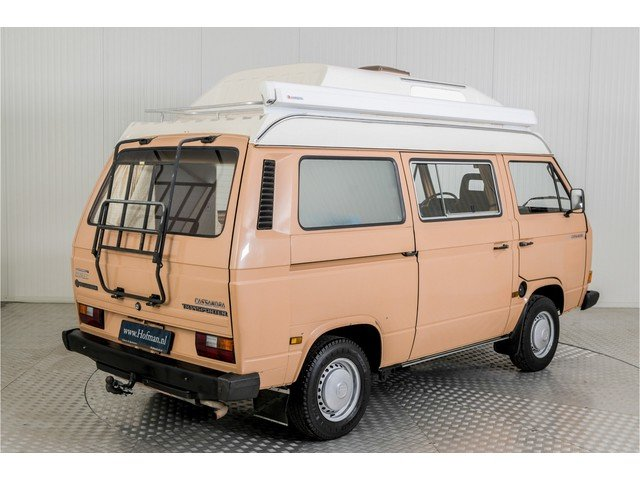 1986 Volkswagen Transporter T3 Camper Eurec + trailer For Sale (picture 2 of 6)