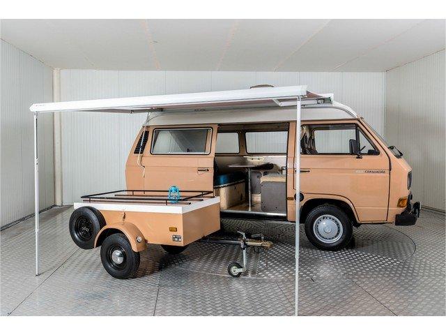 1986 Volkswagen Transporter T3 Camper Eurec + trailer For Sale (picture 3 of 6)
