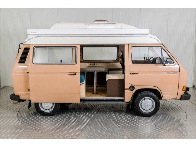 1986 Volkswagen Transporter T3 Camper Eurec + trailer For Sale (picture 5 of 6)