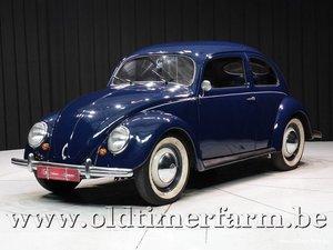 Volkswagen 1200 Brilkever '52