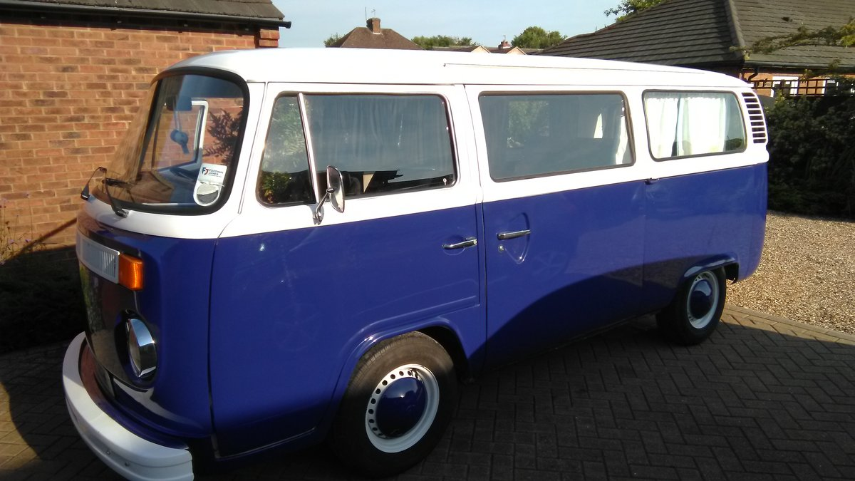 1972 Vw campervan For Sale (picture 1 of 6)