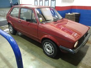 1982 Volkswagen MK1 Golf C 1.6 Diesel Left hand drive for auction