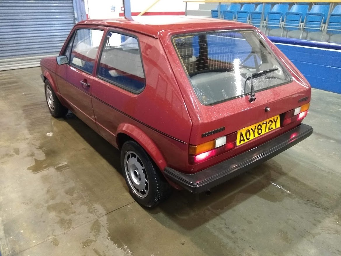 1982 Volkswagen MK1 Golf C 1.6 Diesel Left hand drive for auction SOLD by Auction (picture 2 of 6)